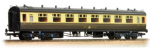 34-128 Bachmann Branchline 60ft. Collett 1st/3rd Composite GWR Chocolate & Cream